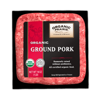 Frozen US Organic Prairie Ground Pork (Mince) 448g*
