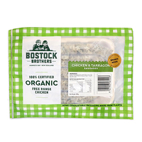 Frozen Bostock Brothers Organic French Tarragon Sausages 290g - NZ*