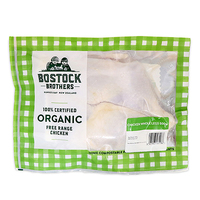 Frozen Bostock Brothers Organic Chicken Whole Legs 500g - NZ*