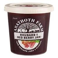 Anathoth Farm Rhubarb & Red Berry Jam 455g*