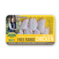 Frozen Aus MT Barker Chicken Mid-joint Wing 400g*