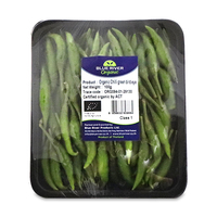 Organic Chilli Green Bird Eye 100g - Thailand*