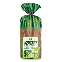 Frozen NZ Vogel's Harvest Grain Bread 720g*