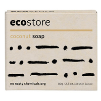 Ecostore Coconut Soap 80g - NZ*