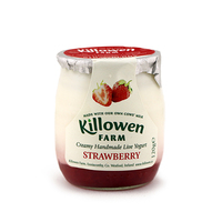 Killowen Farm Handmade Strawberry Live Yogurt 120g - Ireland*