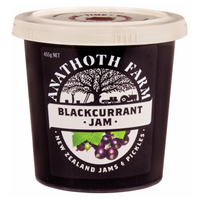 Anathoth Farm BlackCurrant Jam 455g*