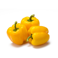 Yellow Capsicums 500g - Aus*