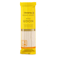 Clearspring Organic Japanese Wide Udon Noodles 200g - Japan*