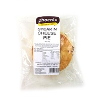 Frozen Phoenix GF Steak & Cheese Pie 170g*