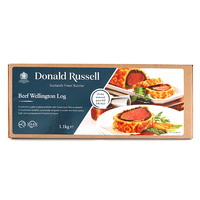 Frozen UK Donald Russell Butchers Beef Wellington Log 1.1kg*
