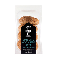 Frozen Home St. Sprouted GF Bun 360g*