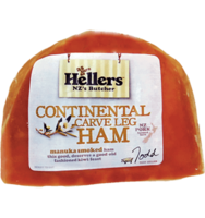 Frozen Hellers Continental Carve 1/2 Ham