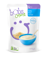 Bubs Organic Baby Rice Cereal 4+Months 125g*