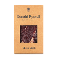 Frozen UK Donald Russell Dry Aged 28 Days Ribeye Steak 250g*
