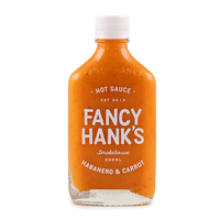 Fancy Hanks Habanero & Carrot Hot Sauce 200ml - Aus*