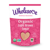 Wholesome Organic Light Brown Sugar 680g*