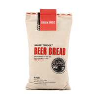 Barretts Ridge Beer bread Chili & Garlic 450g - Africa*