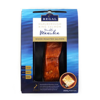 Frozen NZ Regal Double Manuka Wood Roasted Salmon 200g*