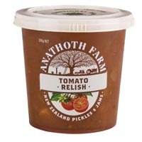 Anathoth Farm Tomato Relish 390g*