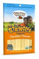 Organic Valley Stringles Mild Chedder 6oz*
