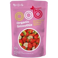 Frozen Omaha Organic Strawberry Kiwi Banana Smoothie 450g*