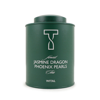 WITAL Jasmine Dragon Phoenix Pearls Metal Tin 120g*
