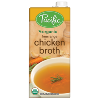 Pacific Organic Free Range Chicken Broth 946ml*