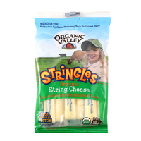 Organic Valley Stringles Mozzarella 6oz*