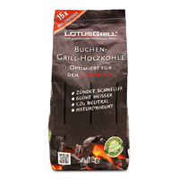 LotusGrill Beech Charcoal 2.5kg - Germany*