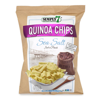 Simply 7 Quinoa Chips Sea Salt 99g - US*