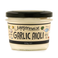 Yarra Valley Mayonnaise Garlic Aioli 180g - Aus*