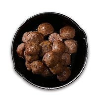 Frozen Italian Beef Meat Ball (Cooked) 500g*