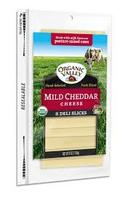 Organic Valley Mild Chedder Sliced 6oz*