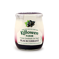 Killowen Farm Handmade Blackcurrant Live Yogurt 120g - Ireland*