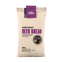 Barretts Ridge Beer bread Olive & Rosemary 450g - Africa*