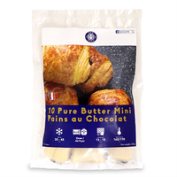 Frozen France Bon Chef Pure Butter Mini Pains au Chocolat (10pcs) 250g*