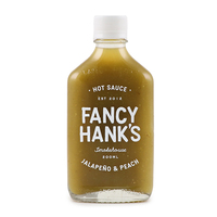 Fancy Hanks Jalapeno & Peach Hot Sauce 200ml - Aus*
