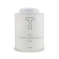 WITAL Ginger Lemongrass Metal Tin 120g*