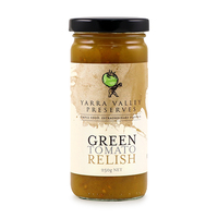 Yarra Valley Green Tomato Relish 250g - Aus*
