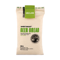 Barretts Ridge Beer bread Garlic & Herbs 450g - Africa*