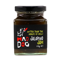 Yarra Valley Mad Dog Jalapeno Chilli Jam 250g - Aus*