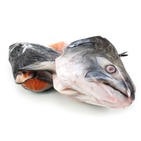 Frozen NZ King Salmon Head (2pcs)