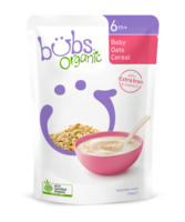 Bubs Organic Baby Oats Cereal 6+Months 125g*