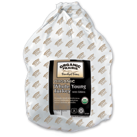Frozen US Organic Prairie Turkey 14-17lbs