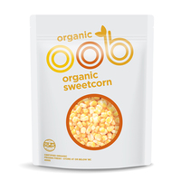 Frozen Omaha Organic Sweet Corn 400g - NZ*