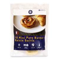 Frozen France Bon Chef Mini Pure Butter Raisin Swirls (10pcs) 300g*