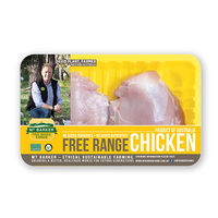 Frozen Aus MT Barker Chicken Skinless Thigh 400g*
