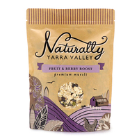 Naturally Yarra Valley Fruit & Berry Boost Muesli 500g - Aus*