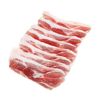 Frozen Organic Dutch Boneless Pork Shoulder for hot pot - 250g*