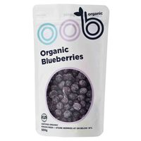 Frozen Omaha Organic Blueberries 450g*